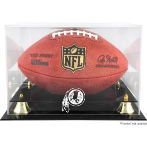 Fanatics Authentic Washington Redskins Golden Classic Team Logo Football Display Case