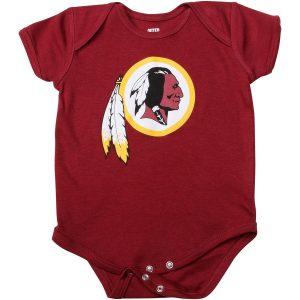 Washington Redskins Newborn & Infant Team Logo Bodysuit
