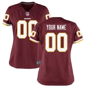 Washington Redskins Nike Women's Custom Game Jersey
