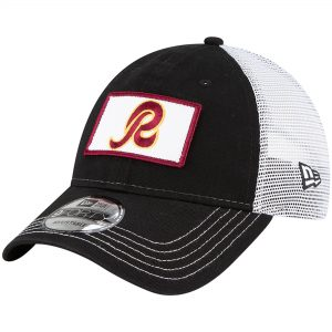 New Era Washington Redskins Black Snapback Hat